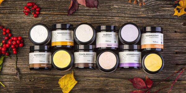 Prírodné krémové dezodoratny a penové krémy