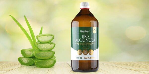 Pre silnejšiu imunitu: 1 l aloe vera gélu s dužinou