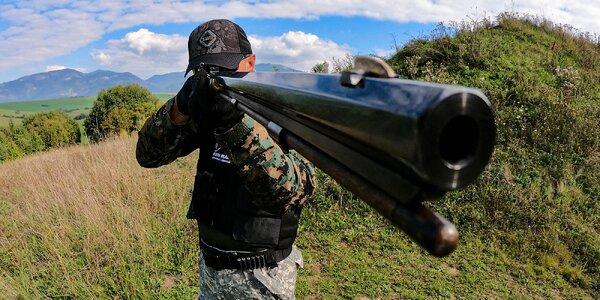 Jedinečná streľba z historických zbraní v modernom štýle