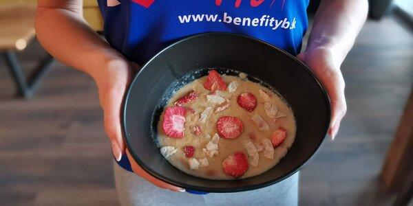 Chutné proteínové BeneFIT kaše v rôznych príchutiach