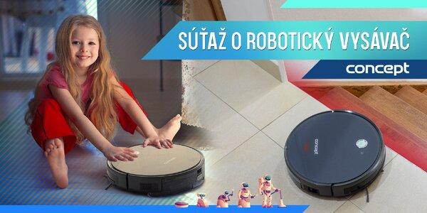 SÚŤAŽ! Vyhrajte s nami praktický robotický vysávač!
