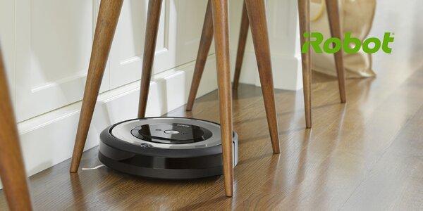 Robotický vysávač iRobot Roomba e5 Silver