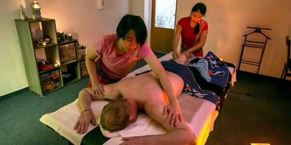 Párové thajské a relaxačné masáže v MALI Thai Massage