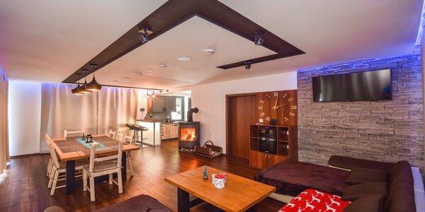 Luxusná chata na Martinských holiach pre 6 a viac ľudí