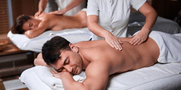 Romantická thajská olejová masáž pre páry