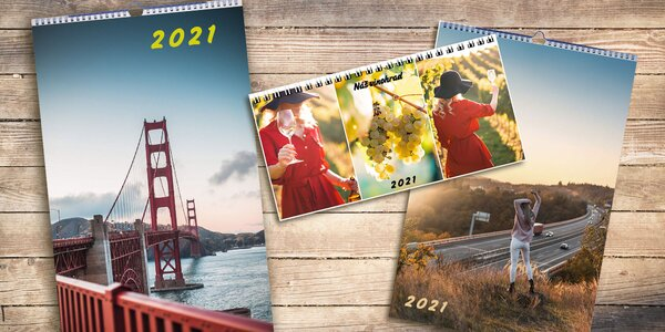 Vytvorte si originálny kalendár z vlastných fotiek
