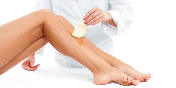 Epilácia horúcim voskom - hladká pokožka aj v zime