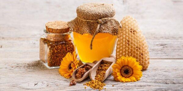 Sušený peľ či pastovaný včelí med s peľom