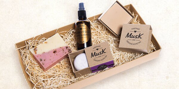 Darčekové sady s prírodnou kozmetikou MusK