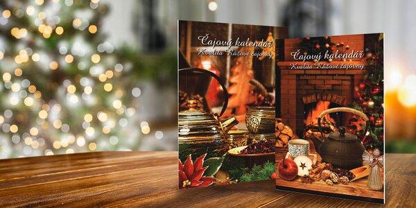 2 adventné kalendáre so 48 porciovanými čajmi
