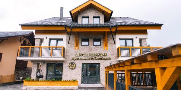 Luxusné apartmány v blízkosti Jasnej: každodenný wellness a dlhá platnosť