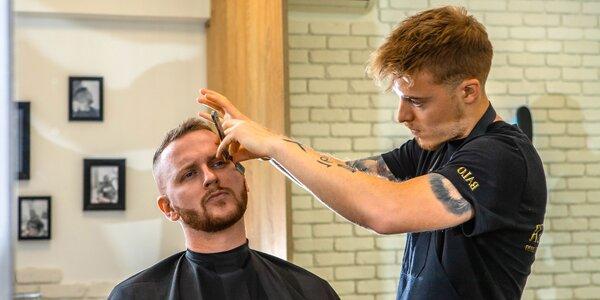 Super účes aj brada od Balldwer Barber