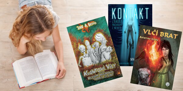 Výber fantasy kníh od slovenských autorov