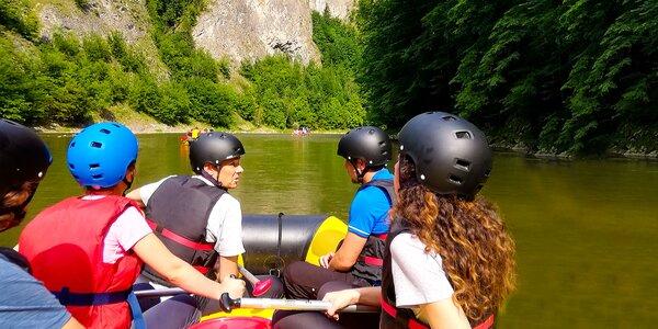 Dobrodružstvo v Pieninách - splavte Dunajec na raftoch