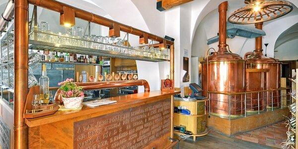 Pobyt v kroměřížskom pivovare: lahodné špeciality i wellness procedúry