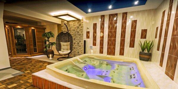 Pobyt s privátnym wellness v centre kúpeľných Rajeckých Teplíc