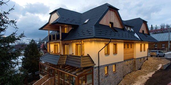 Luxusné apartmány v Ždiari s možnosťou wellness