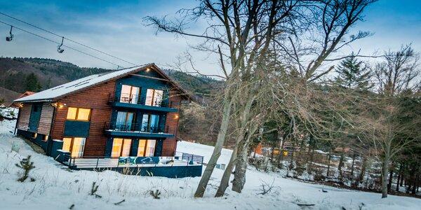 Pobyt v horskom prostredí v nových apartmánoch vo Valčianskej doline
