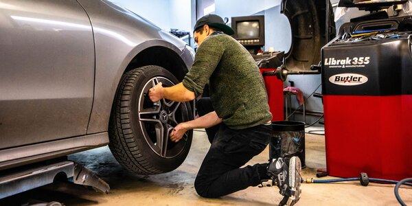 Prezutie či výmena kolies a kontrola vozidla