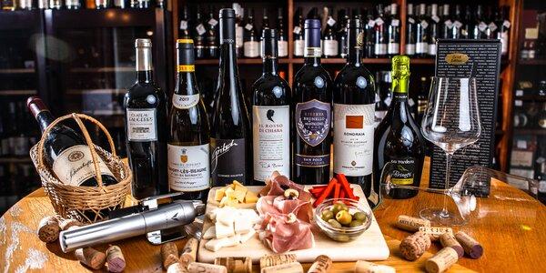 Degustácia exkluzívnych vín vedená profi someliérom