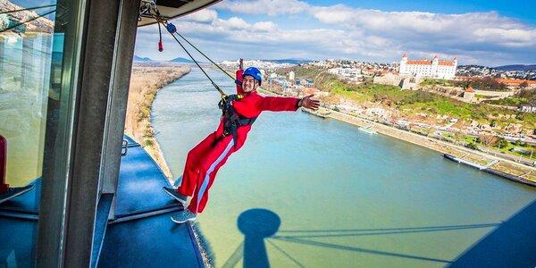 UFO Skywalk: adrenalínová prechádzka vo výške 85 m