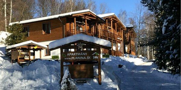 Wellness pobyt v apartmánoch Planina priamo v areáli Prednej Hory