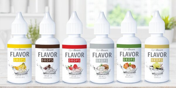 Flavor Drops: kvapky bez kalórií pre ochutenie jedál