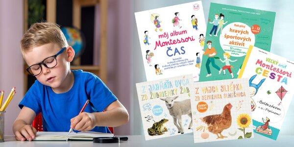Montessori i ďalšie náučné a zábavné knihy pre deti