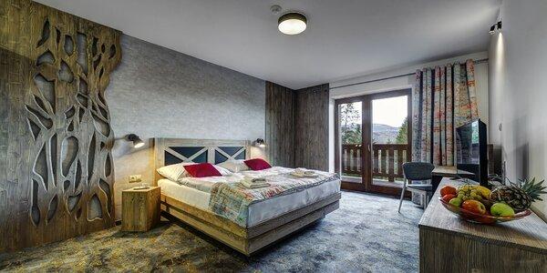 Nový Hotel Strachan Family Jasná s neobmedzeným wellness v lone N. Tatier