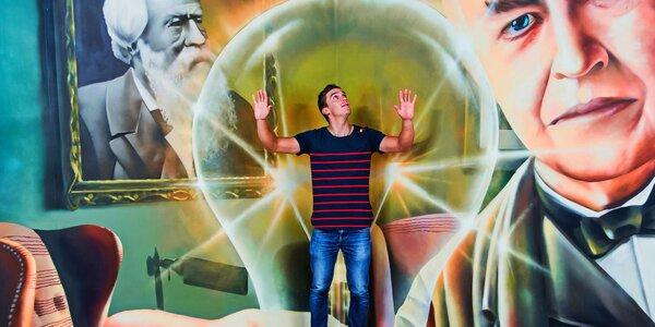 Vstúpte do fascinujúceho sveta optických klamov v galérii ILUSIA