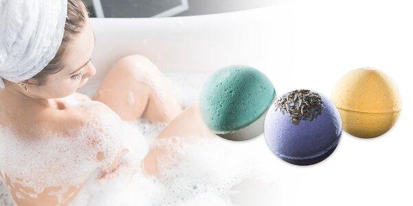 Šumivé bomby do kúpeľa alebo voňavé rastlinné mydlá