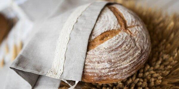 Praktické a ekologické vrecká na chlieb z ľanu