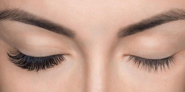 3D či 4D hodvábne riasy alebo Lash lift botox