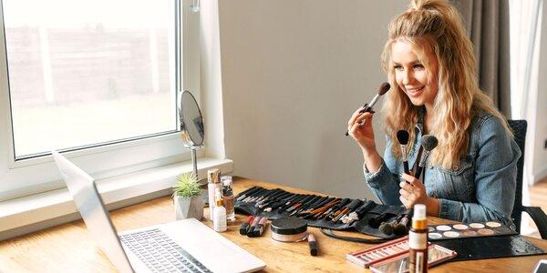 5 druhov online kurzov profesionálneho líčenia