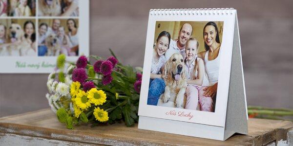 Vytvorte si štvorcový stolový alebo nástenný kalendár s vašimi vlastnými fotografiami