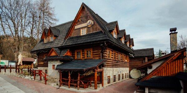 Pobyt v Terchovej v štýlovom penzióne s exteriérovou saunou