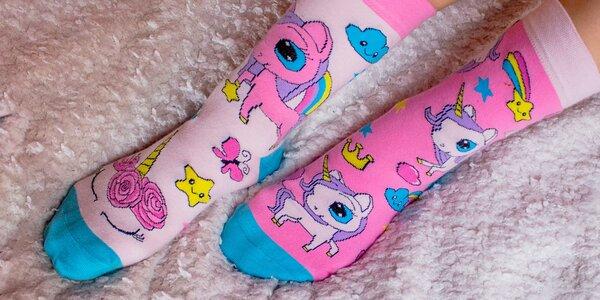 Pohodky: veselé ponožky pre celú rodinu – 21 druhov