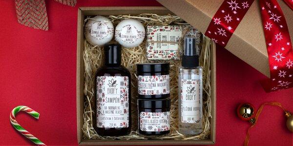 Vianočné balíčky kozmetických produktov Biofy®