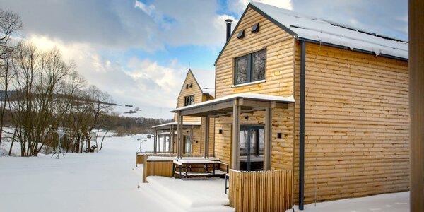 Luxusné chaty pre 4 - 9 osôb s vlastnou saunou, 3D bludiskom a ďalšími atrakciami