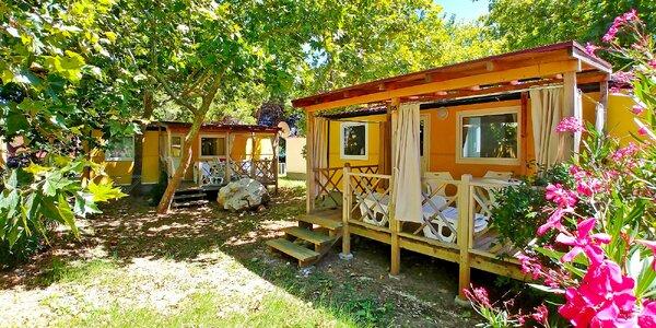 Chorvátsko – Orebić: klimatizovaný mobilný dom až pre 6 osôb