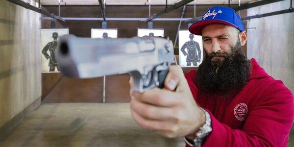 Zážitková streľba na terč z pištole aj pušky!