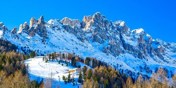 Lyžovačka v Dolomitoch: 3* hotel, raňajky a skipas