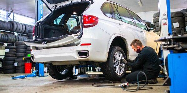 Výmena letných pneumatík alebo kolies za zimné