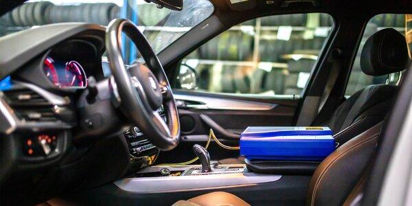 Dezinfekcia klimatizácie a interiéru vozidla ozónom