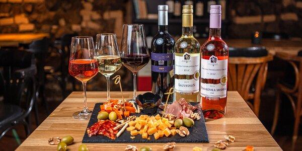 Degustácia slovenských vín v bare VYdrica
