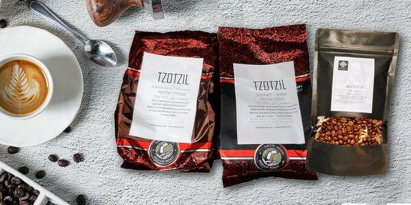 Mexické kávy Mantua alebo Tzotzil