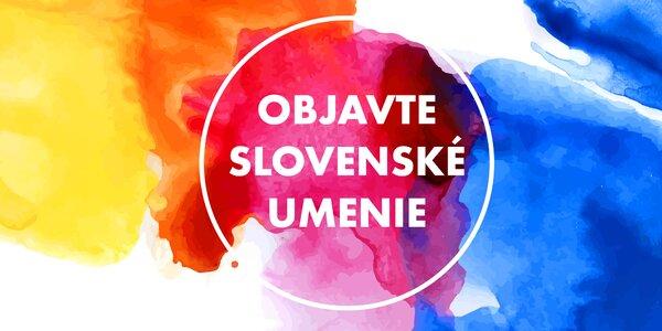Podporujeme talenty: aj vy môžete mať doma obraz od slovenského umelca či umelkyne