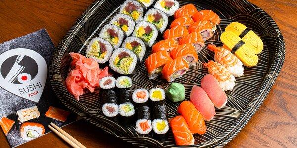 Obrovská porcia sushi s rozvozom až ku Vám domov