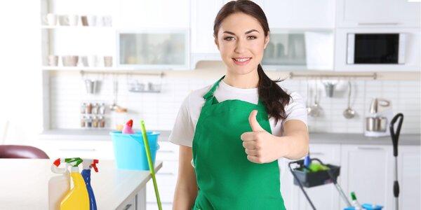 Profesionálne čistenie a upratovanie domácnosti