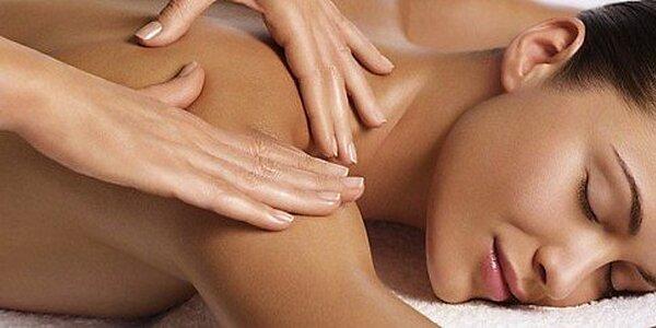 Klasická športovo - relaxačná alebo banková masáž